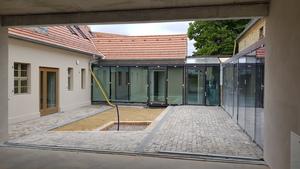 Lindowsches Haus_Innenhof Bürgerservice