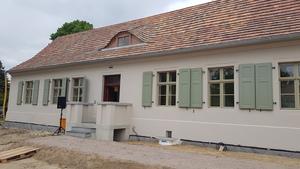 Lindowsches Haus - kurz vor Fertigstellung